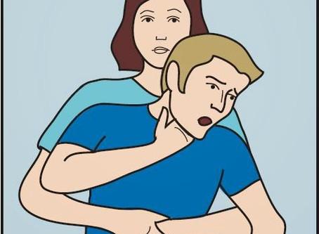 Help! Help! He's Choking!