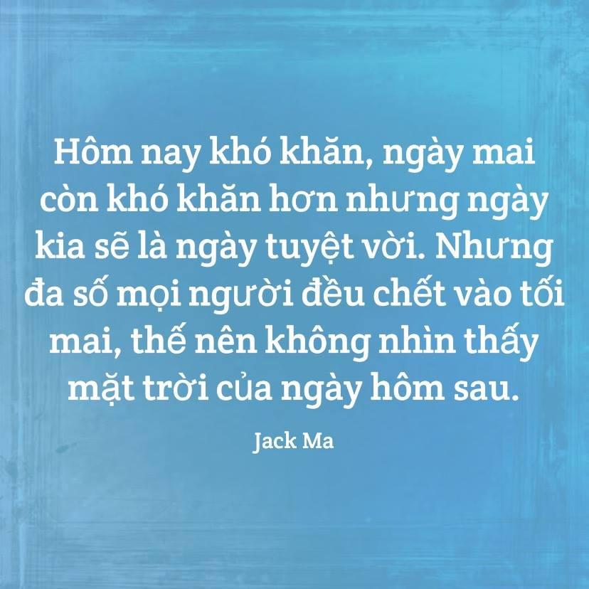Kiên trì - Jack Ma