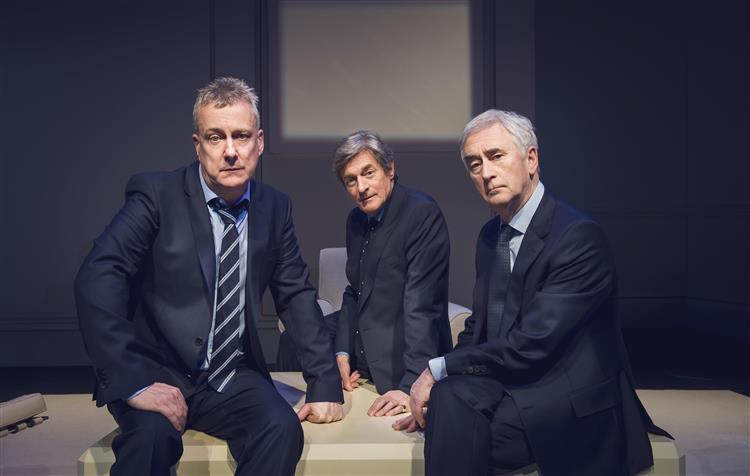 Stephen Tompkinson, Nigel Havers and Denis Lawson