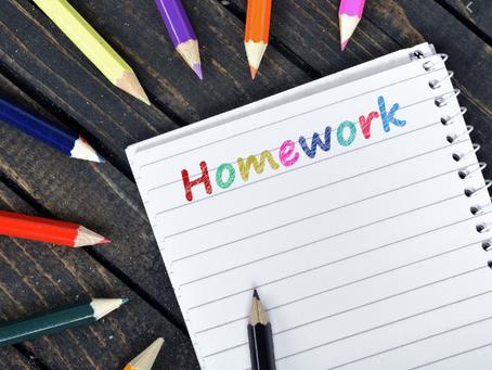Year 5 Homework.