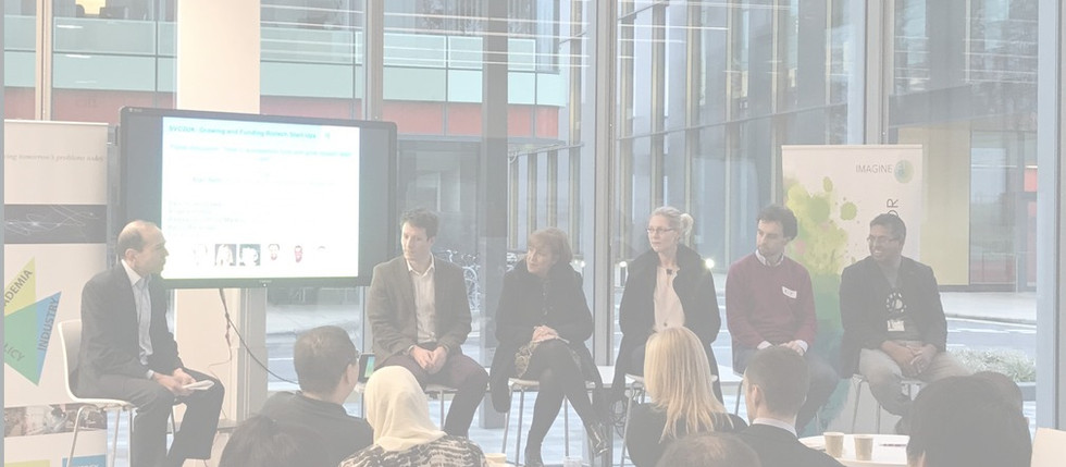 SVC2UK Oxford Panel on How to Fund and Grow Biotech Startups