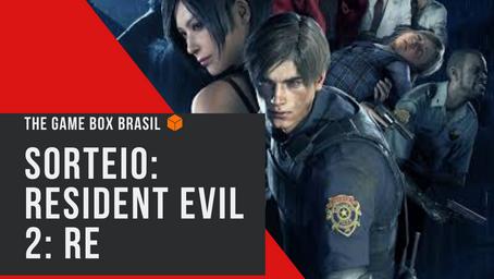 Sorteio: 1 KEY para Steam de Resident Evil 2: RE.