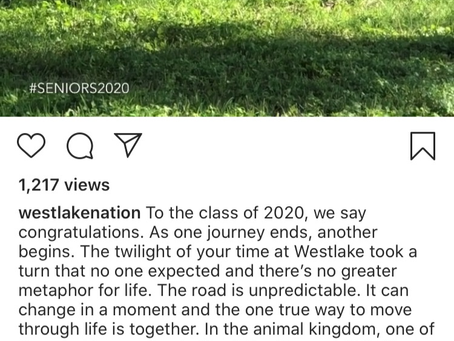 Chaps Class of 2020-Words of Wisdom