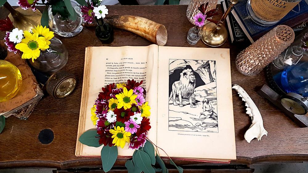 Décoration de table mariage originale et atypique. Wedding planner pour mariage insolite.