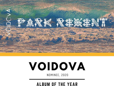 """PARK REGENT"" NOMINATED FOR ALBUM OF THE YEAR"