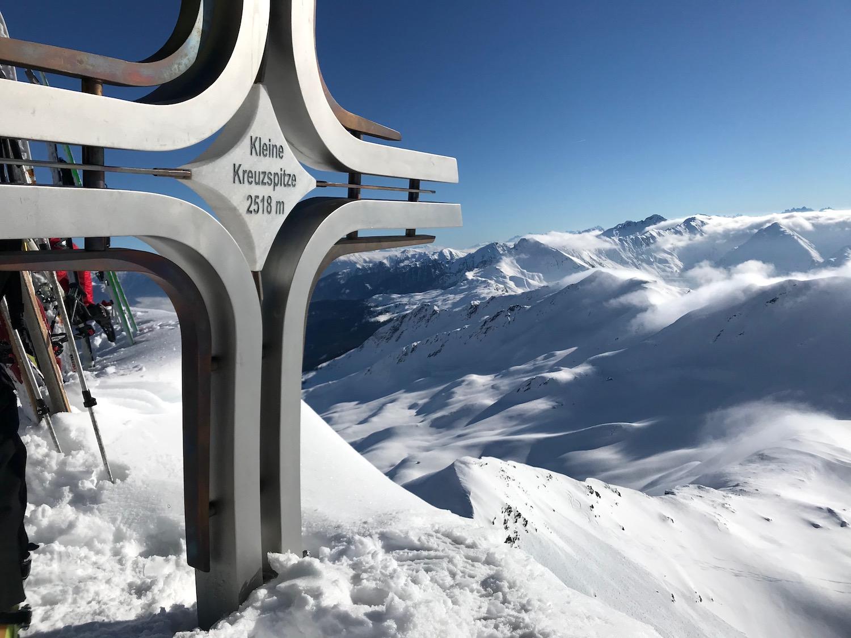 Gipfelkreuz, Kleine Kreuzspitze Ratschingstal