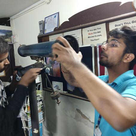 Reviving our Vintage Telescope