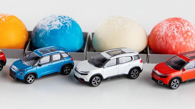 Des bonbons japonais inspirés par les SUV Citroën