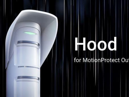 Meet Hood — a visor for MOTION PROTECT Outdoor