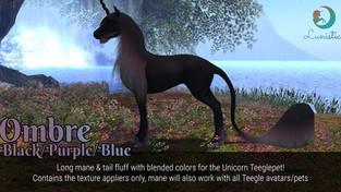 Lunistice: Unicorn Teeglepet Mane & Fluff