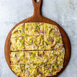 Recipe of the day: Classic Flammkuchen Recipe from Constantia Glen.