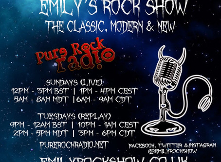 (Podcast) Emily's Rock Show (09/20 + 09/22)