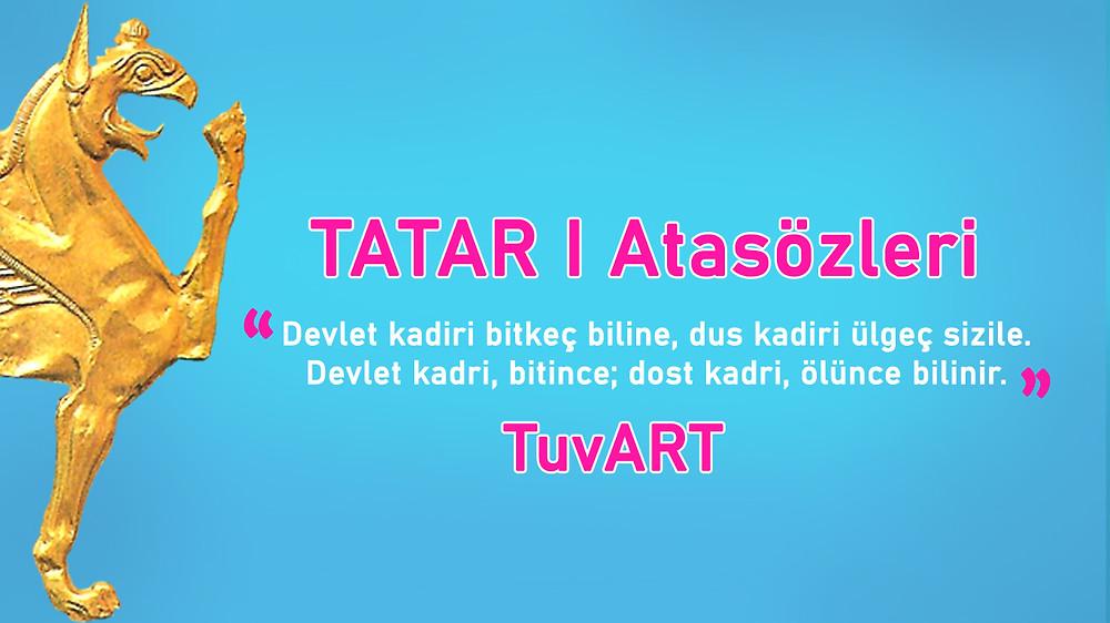 Tatar Atasözleri - TuvART.net