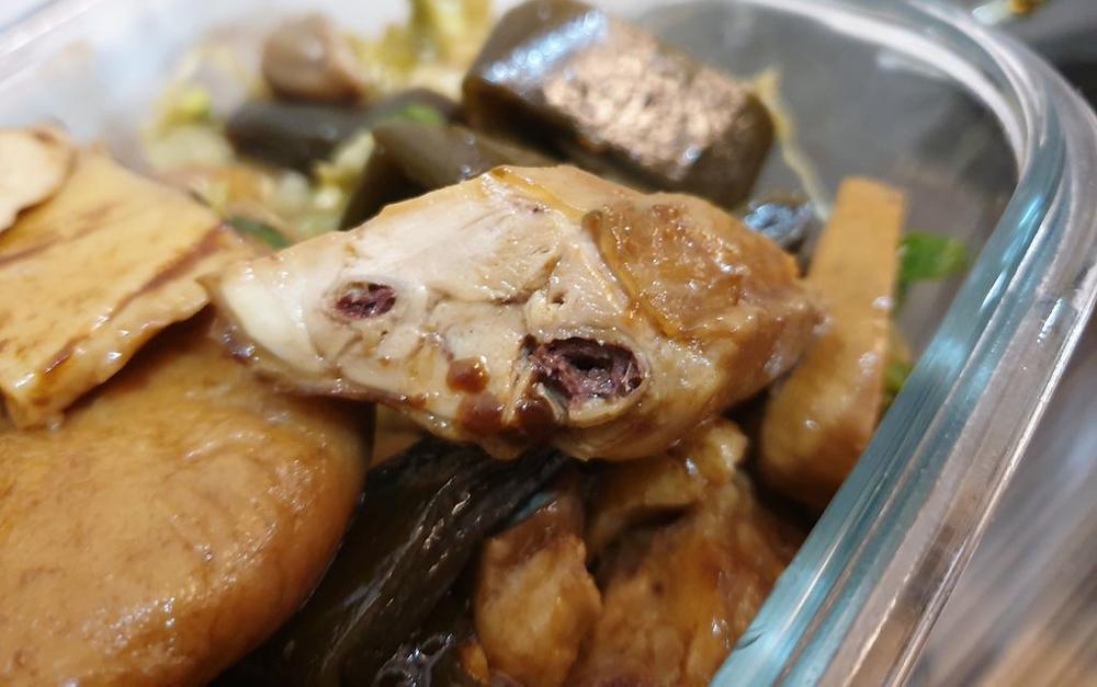 梁記滷味雞翅