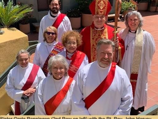 Sister Greta Ronningen, CDL ordained to Sacred Order of Deacons in Los Angeles