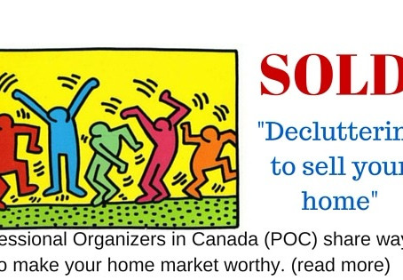 SOLD: Decluttering to sell your home