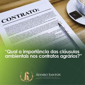 Qual a importância das cláusulas ambientais nos contratos agrários?