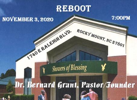 Reboot! Tuesday Night Bible Study