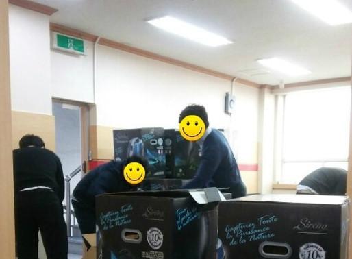 [기부활동] 2017.03.10 대구 봄의 집 & 신애보육원 후원물품 기증