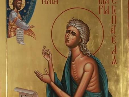 Sfânta Maria Egipteanca, modelul unei convertiri totale