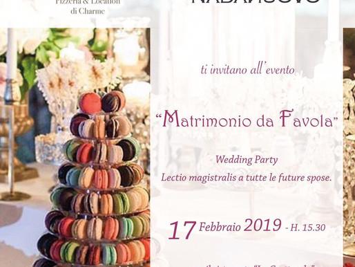 """My Work: """"Matrimonio Da Favola""""- Un Wedding Party In Stile Belle Epoque"""