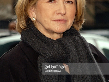 Martha Stewart doesn't age?