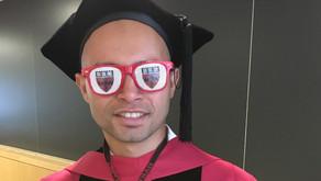 دراسة الفيزياء بجامعة إلينوي وهارفارد - د. محمد زاغو