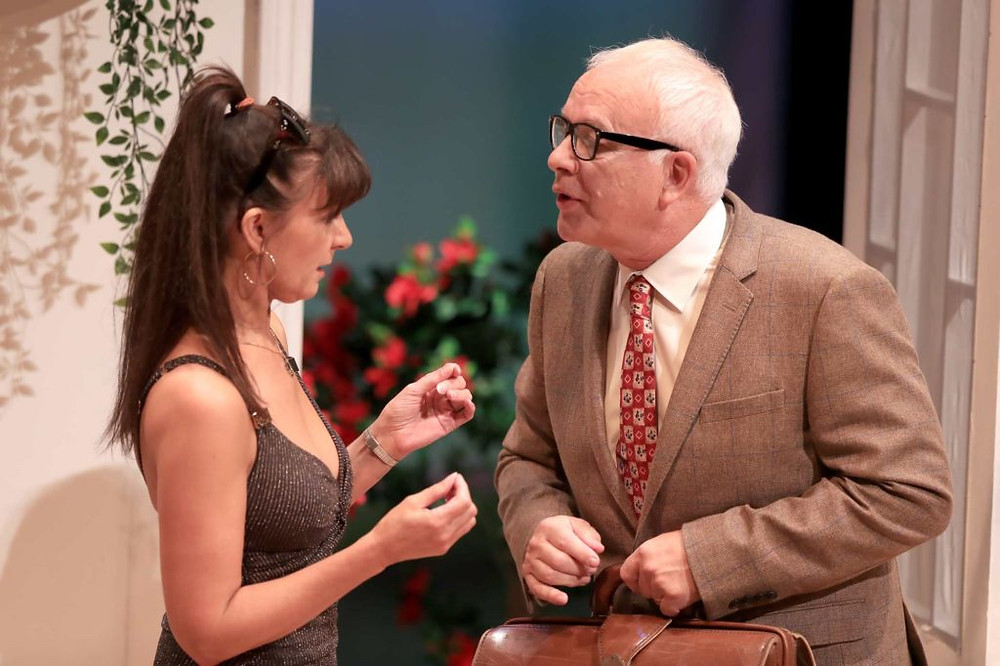 Angie Smith and Michael Sherwin in Dangerous Obsession at Blackpool Grand. All pics: Simon Cooper