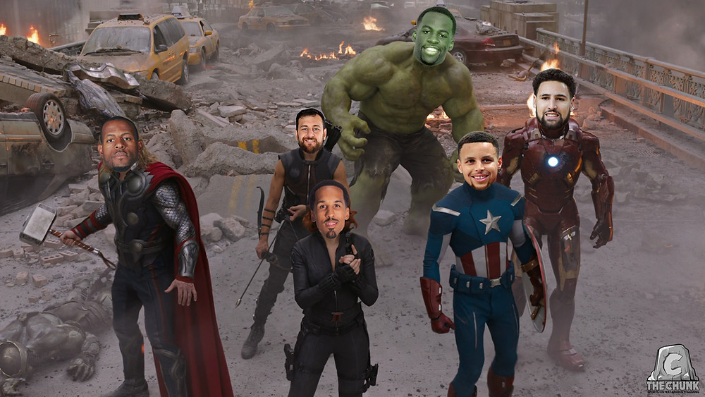 Golden State Warriors as The Avengers