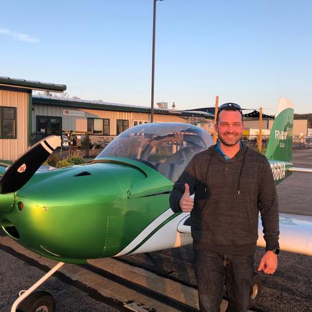 Checkride PASSED! New Private Pilot Brendon D.
