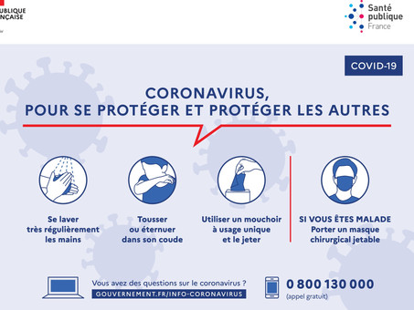 Message aux parents : Coronavirus