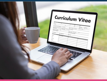 3 Steps to a Perfect CV