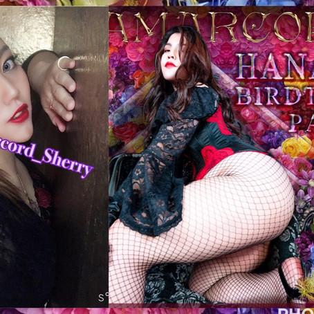 👠3月21日(土曜日)👠 19:00~25:00 Amarcord 花子様BirthdayParty🎂 by Sherry
