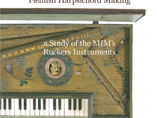 Bessaraboff Prize Awarded to The Golden Age of Flemish Harpsichord Making