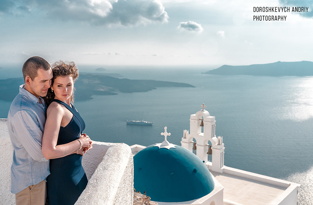 Wedding in Greece, Santorini wedding