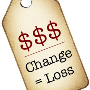 The Price Tag of Change