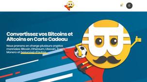 Dépenser Ses Bitcoins, Ethereum, Crypto-monnaies facilement contre des cartes cadeaux [Présentation]