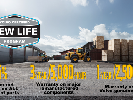 Give Your Machines a Makeover With the Volvo Certified New Life Program