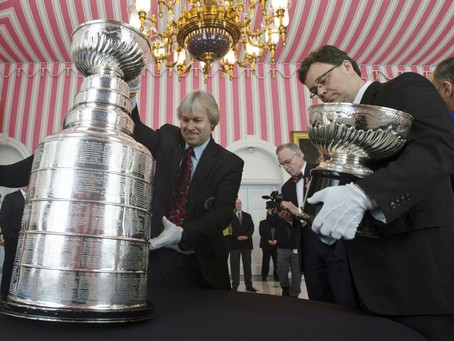 With hockey on hiatus, storied Stanley Cup is locked away
