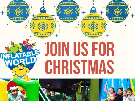 Christmas fun @ Inflatable World Miranda