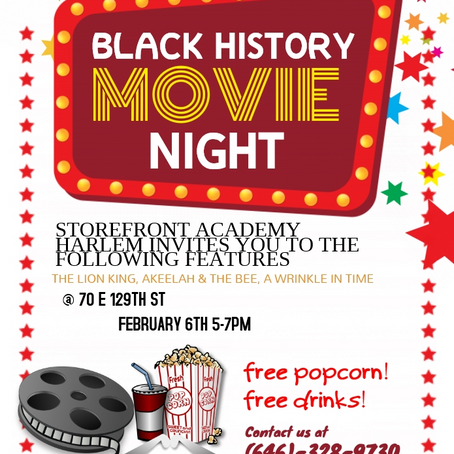 Black History Movie Night