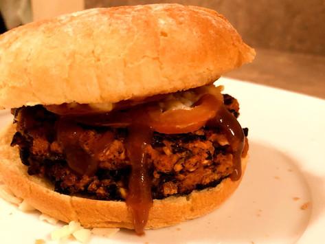 3 Ingredient Black Bean Burger