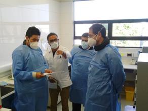 Autoridades destacan aporte de Laboratorio Molecular Municipal para frenar avance de COVID-19