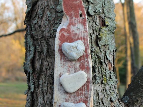 New Heart Rock Wall Art in Etsy Shop
