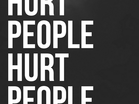 Hurt People Hurt People: A Lesson About Bullies