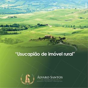 Usucapião de Imóvel Rural