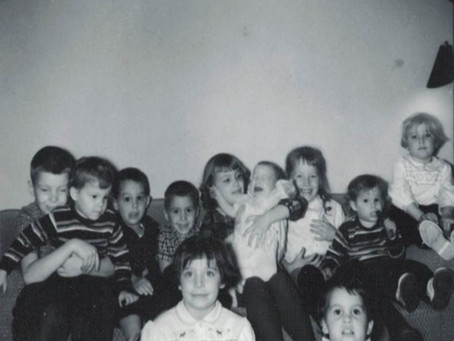 Quiz today, which one is me? Hint, taken in 1964.