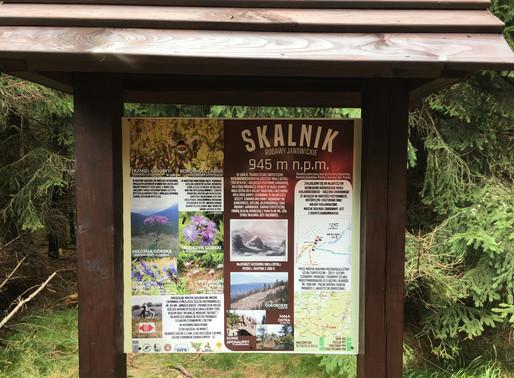 Wyjazdowy trening nordic walking w Rudawy Janowickie - SKALNIK, 10.10.2020