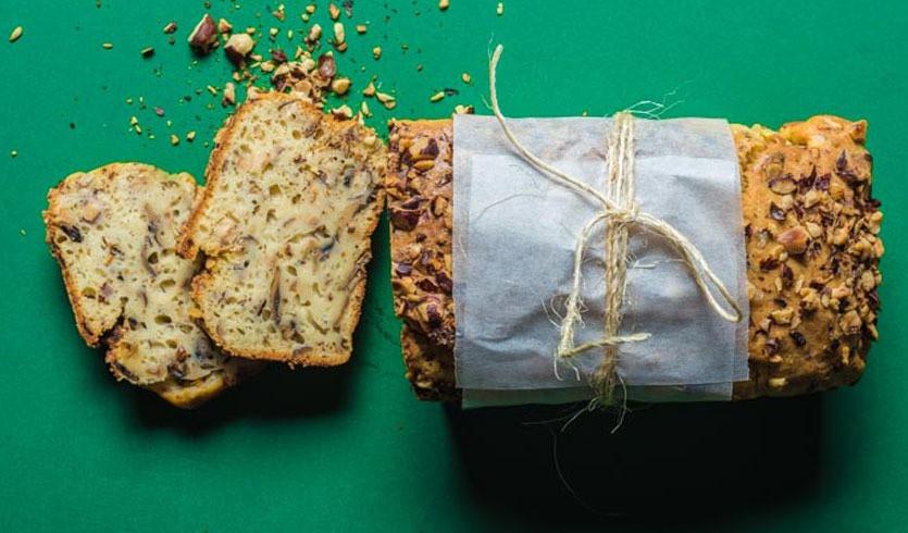 grybų duona su riešutais, Alfo receptai, Alfas Ivanauskas