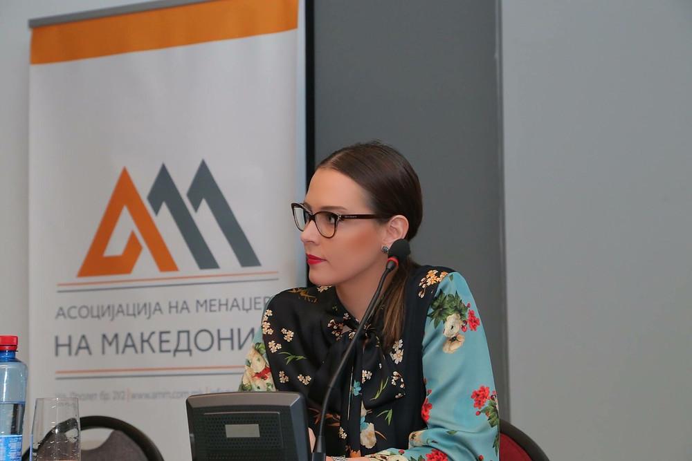 Маја Ристова, Асоцијација на менаџери на Македонија